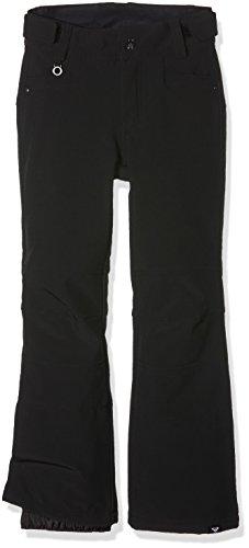 Creek Roxy-Pantaloni da sci, da ragazza, colore: nero, taglia: 16 anni (taglia del produttore: XXL) 16