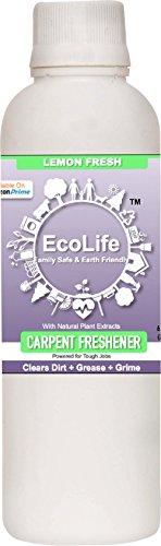 ECOLIFE 100% Natural Carpet Freshener, Lemon Fresh (200ml)