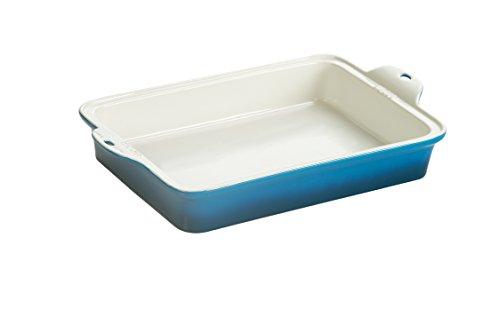 Image of Lodge STW13RCT33 Stoneware Baking Dish, 9 x 13, Blue by Lodge