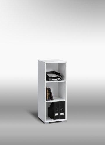 MAJA-Möbel 1735 5539 Aktenregal, Icy-weiß, Abmessungen BxHxT: 42.1 x 109.7 x 40 cm