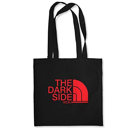Planet Nerd The Dark Side - Stoffbeutel, schwarz
