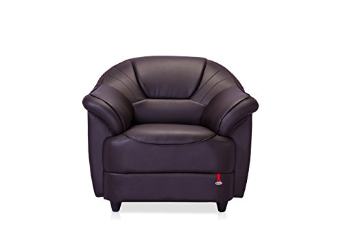 Durian Berry Single Seater Sofa (Brown)  available at amazon for Rs.13750