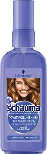 Schauma Power Volume 48H Asciugacapelli Aufpolster-Spray, confezione da (6X 100ML)