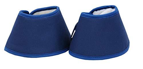 Amesbichler Water Boots Springglocken blau | Waterboots Hufglocken gegen trocken Hufe spart Huföl | Hufglocken-Water Boot für Pferde