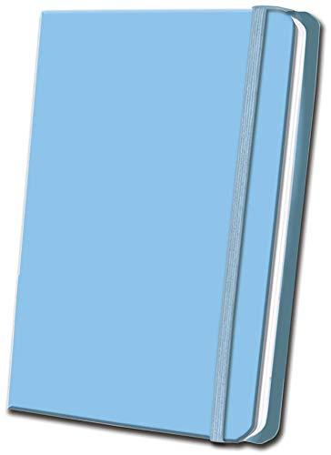 Sky Blue Satin Journal -