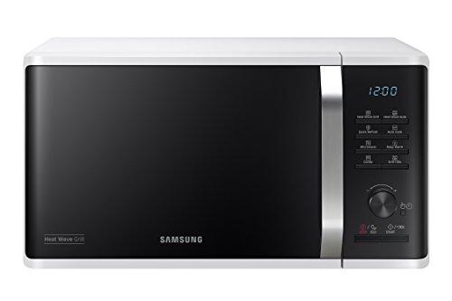 Samsung MG23K3575AW/EU Microwave Grill, 23 Litre, White