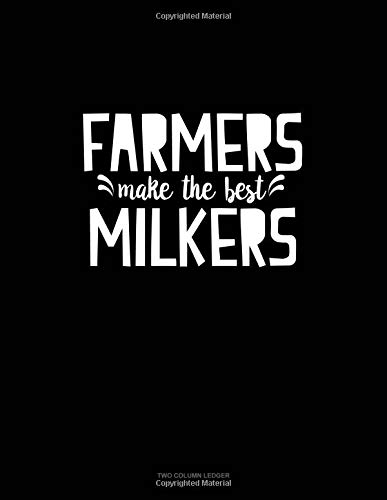 Farmers Make the Best Milkers: Unruled Composition Book por Engy Publishing