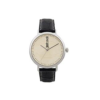 Just Cavalli Reloj Analógico para Hombre de Cuarzo con Correa en Cuero JC1G012L0025