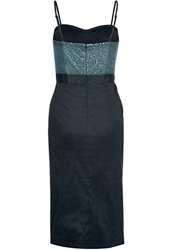 APART Fashion, Kleid, schwarz-grün Schwarz-Grün