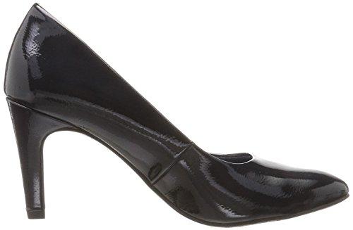Tamaris 22465, Zapatos De Tacón Alto Azul Mujer (night Blue Pat)