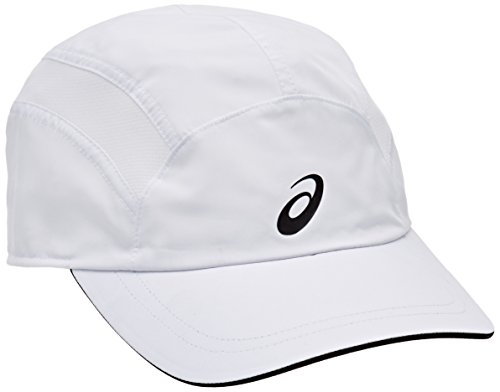 Asics Essentials Gorra, Hombre, Blanco (Real White / Performance Black), Talla Única