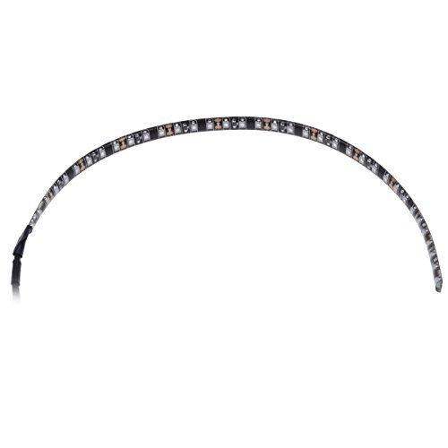 Phobya LED-Flexlight highdensity 30 cm Intérieur 36lamps 300 mm – Ruban Lumineux (36 Lampe (s), LED, intérieur, Blanc, Chauffage, 30 cm)