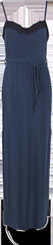 Vert Femmes Abbie Lace Trim Tie Taille Maxi Robe Vert