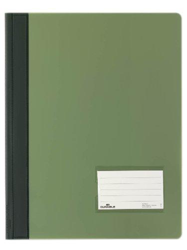 Durable 268005 Schnellhefter Duralux überbreit, 25er Packung grün