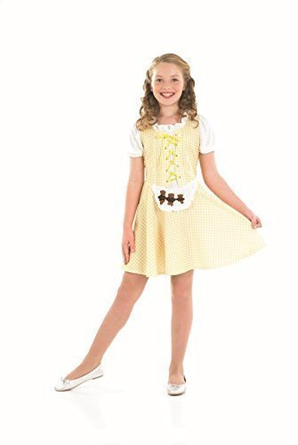 Goldilocks - Kinder Kostüm (Kostüme Für Goldilocks Kinder)