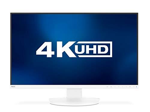 NEC MultiSync EA271U White 68,6cm 27Zoll LCD Monitor LED Backlight 3-Sided Narrow Bezel 3840x2160 UHD DP 2 xHDMI DVI USB C Narrow Bezel