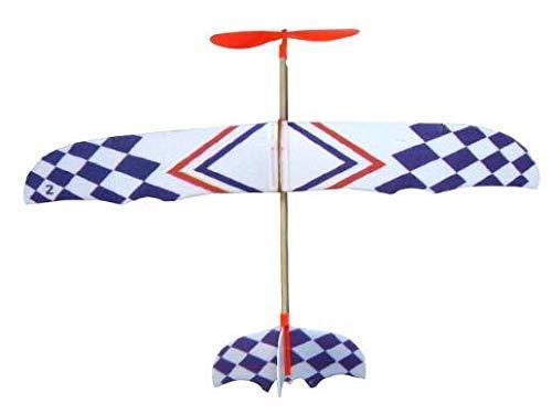 MTSZZF El Stico El stica Rubber Powered DIY Foam Plane Model Educational Toys Kit