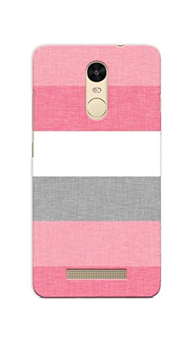 Kaira Printed Back Cover for Redmi Note 3 (Pink)
