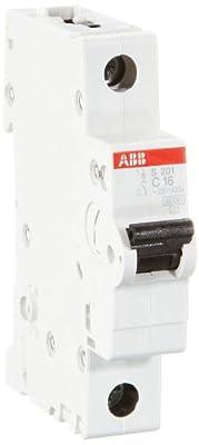 ABB S201-C16 Sicherungsautomat 16A von ABB auf Lampenhans.de