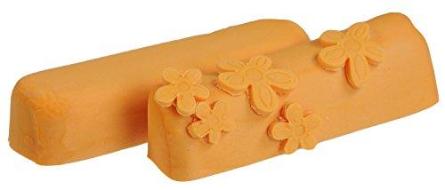Hobbybäcker Fondant orange, ► Rollfondant, Dekormasse für Torten, Tortendeko, Fondant-Figuren, Fondant-Blumen, 250 g