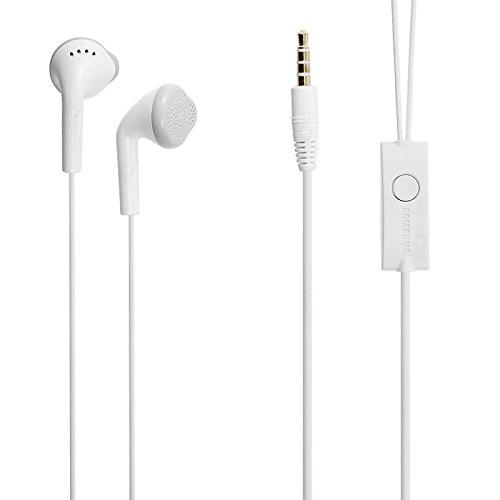 small candy Motorola Moto X Play OEM Earphone, Handsfree Stereo Headphones with Microphone -white