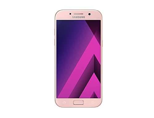"Samsung Galaxy A5 2017 - Smartphone libre de 5.2"" Full HD (4 G, Bluetooth de 1.9 GHz, Octa-Core, memoria interna de 32 GB, 3 GB RAM, pantalla Super Amoled tactil, cámara de 16 MP, Android 6.0) rosa"