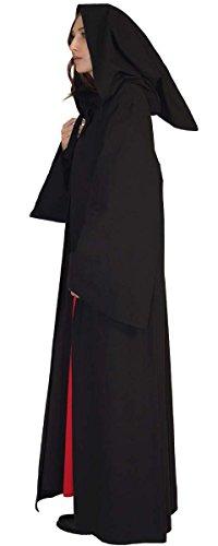 Maylynn 16281 – Mittelalter Umhang Damen Vampir Cape Kapuzenumhang 100% Baumwolle, Größe:M - 3