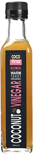 COCOFINA Coconut Vinegar Nutmeg Organic 12 x 250 ml