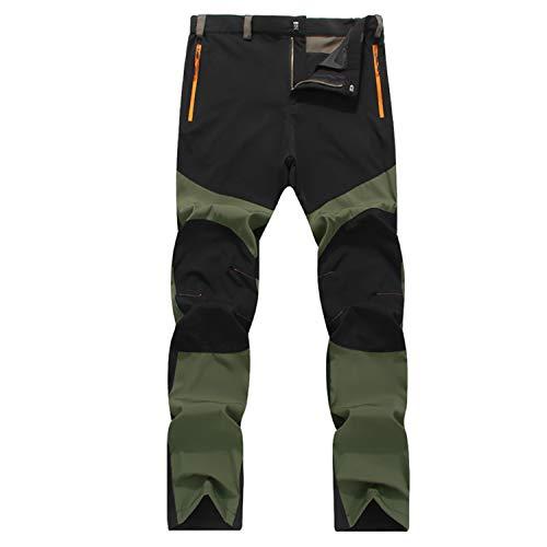 LHHMZ Pantalones Senderismo Secado rápido Hombres