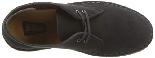 Clarks Originals Stivali Desert Boot, Donna Nero (Black)