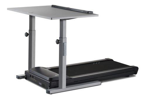LifeSpan TR5000-DT5 - Scrivania con tapis roulant integrato/Treadmill desk (Argento DT5s)