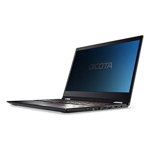 Dicota D31490 Secret 2-Way Blickschutzfolie für Lenovo ThinkPad Yoga 370 Transparent Rot