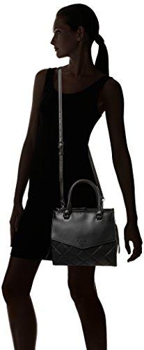 Fiorelli - Mia, Borse a mano Donna Nero (Black Quilt)