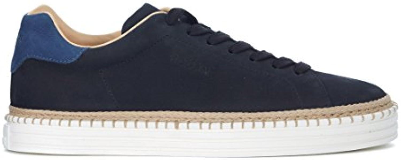 Hogan Sneaker R260 in Nubuk Blau