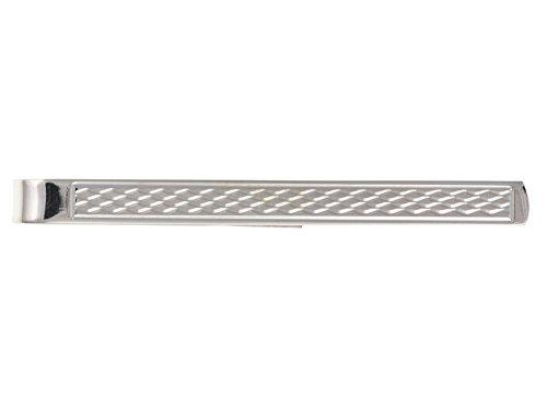 Herren 5mm Motor gedreht Krawatte Slide-925Sterling Silber, Lieferung erfolgt in Geschenkbox oder Geschenkbeutel -