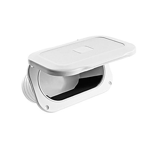 Nuova Rade Utility Storage Hatch Oval Color White
