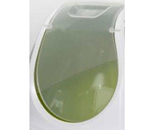 Cat Flip Katzenklo + 2Schalen 0,3l + Schaufel, Kapuzen WC-Filter Schüssel (Große Kapuzen Katzenklo)