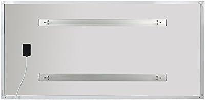 El Fuego 6922 Infrarot-Heizpaneel 720 W, für Wandmontage geeignet, Plug und Play, Modern Bedruckt von El Fuego® GmbH - Heizstrahler Onlineshop