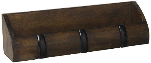 Umbra 1004250-048 Cubby Mini-Aufbewahrung, Holz, walnuss, 27,62 x 5,71 x 7,62 cm