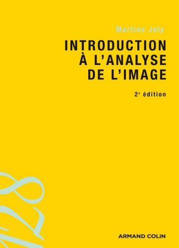 Introduction à l'analyse de l'image (Cin�...