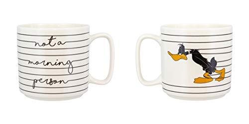 Paladone PP5664LOO Looney Tunes Daffy Duck Tasse in Standardgröße für Kaffee/Tee, Keramikbecher, süße und super lustige Art, Ihr Lieblingsgetränk zu trinken, Steinzeug