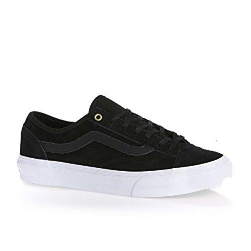 Vans Style 36 Slim, Chaussons Sneaker Adulte Mixte (Gold Pop) Suede/Black