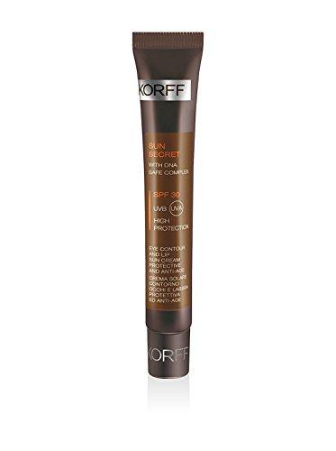 Korff Sun Secret Set 2 Cremas Solar Contorno de ojos y labios Spf 30 Protección Anti-Edad 15 ml cad.