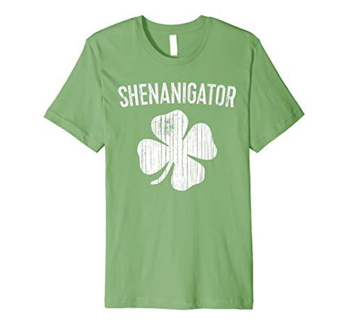 shenanigator T-Shirt Saint Patrick Tag Geschenk -