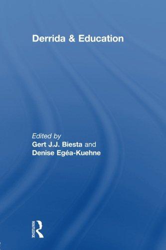 Derrida & Education (Routledge International Studies in the Philosophy of Educati)