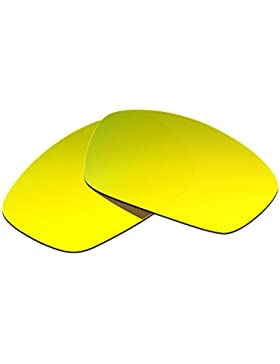 Hkuco Plus Mens Replacement Lenses For Oakley Hijinx Sunglasses 24K Gold Polarized