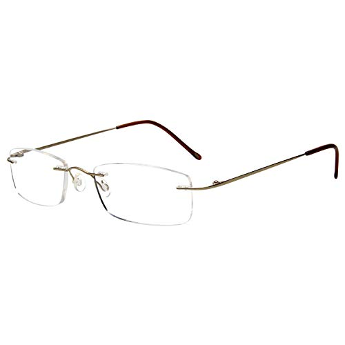 Gafas lectura LianSan titanio sin montura hombres