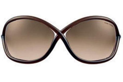 Whitney Tom Ford Sonnenbrille FT0009 braun transparent Tom Ford Whitney Sonnenbrille