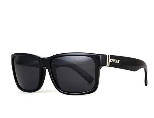 Unisex Polarisierte Sonnenbrillen Retro-Sport Lässige Sonnenbrille Männer/Männer Schwarz