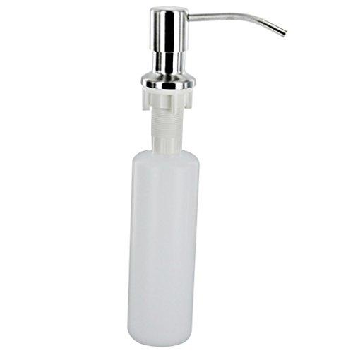 Botella De Plastico Cano De Metal Cocina Bano 300ml